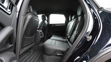 Porsche Cayenne - rear seats