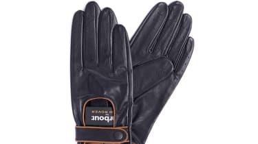 Barbour collection for Land Rover driving gloves