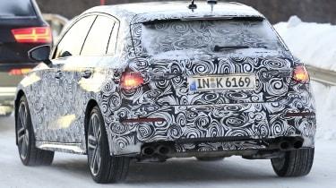 Audi S3 spies - winter rear