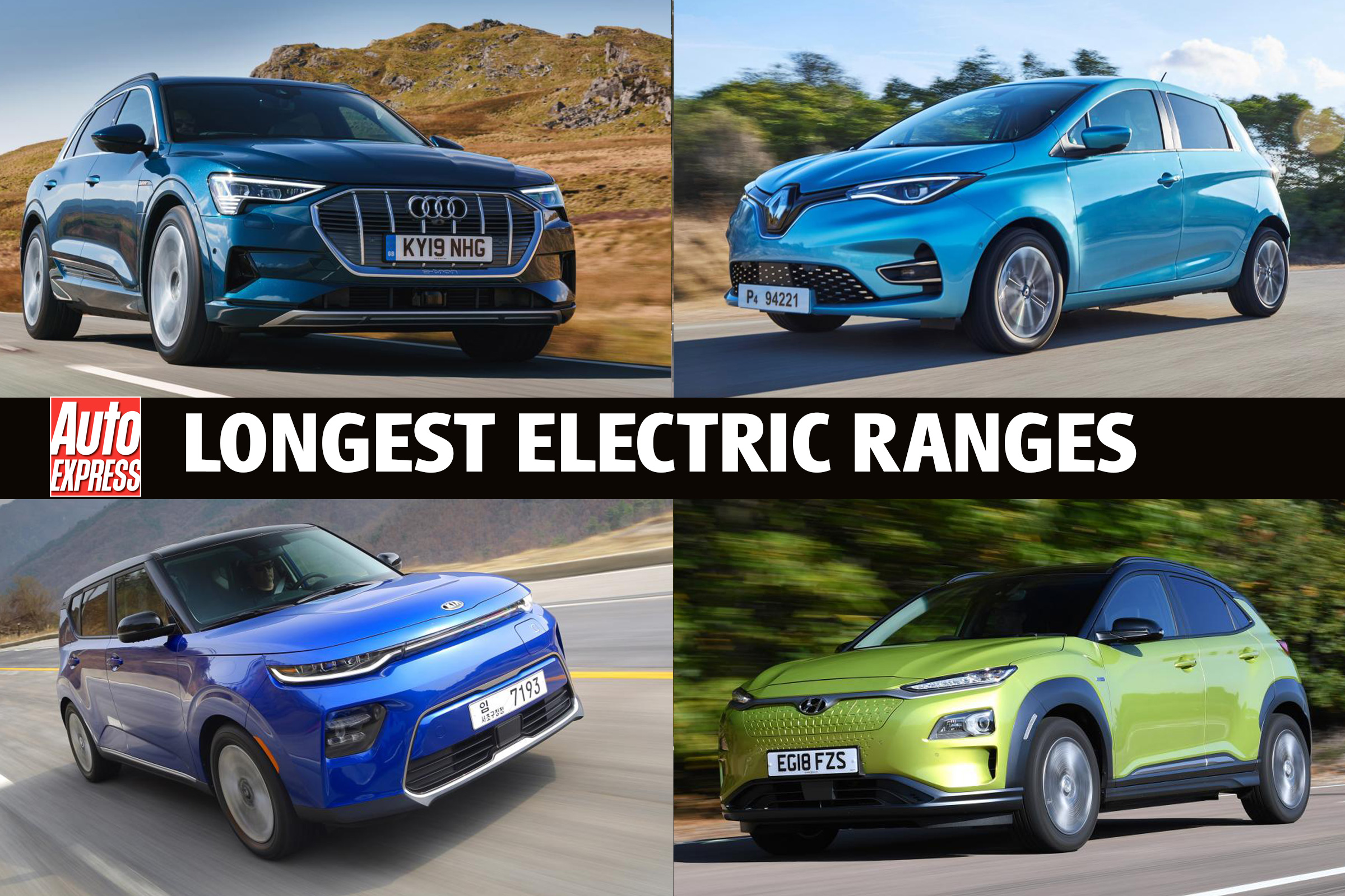 Electric Cars With The Longest Range Auto Express