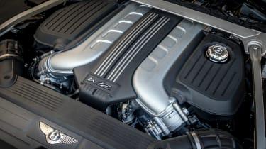 Bentley Continental GT Speed Convertible - engine