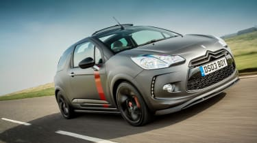 Citroen DS3 Cabrio Racing front tracking