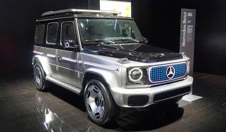 Mercedes Concept EQG - Munich front