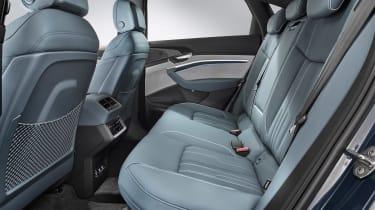Audi e-tron Sportback - rear seats