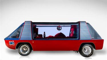 George Barris' Supervan - profile