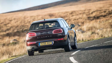 MINI Cooper D Clubman 2015 rear action