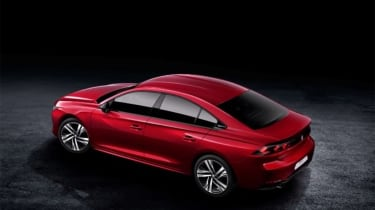 Peugeot 508 leaked - above