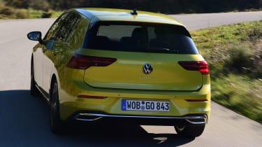 Volkswagen Golf Mk8 - rear cornering