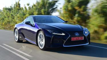 Lexus LC 500h - front