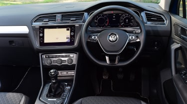 VW Tiguan - interior
