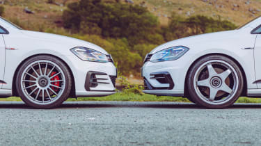VW Golf GTI & R Mountune front static