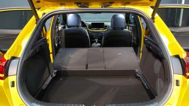 Kia XCeed - boot seats down