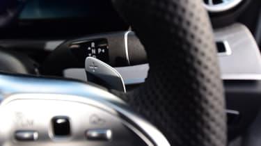 Mercedes CLS steering wheel controls