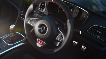 Renault Megane RS - steering wheel