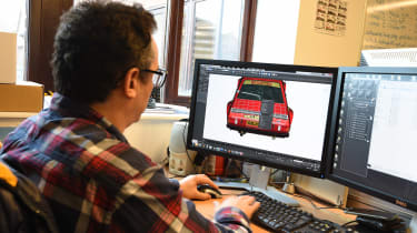 DiRT Rally - car design