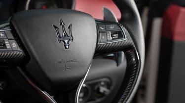 Maserati Levante S - steering wheel