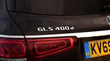 Mercedes GLS - rear badge