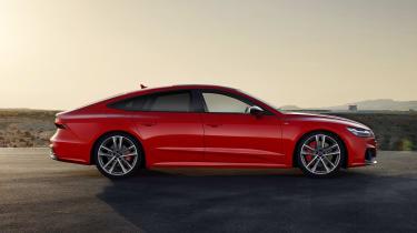 Audi A7 Sportback Hybrid - side shot