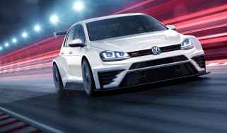 Volkswagen Golf GTI TCR front tracking 1