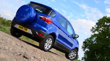 Ford EcoSport rear static