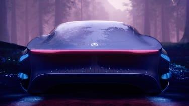 Mercedes Vision AVTR concept - full rear