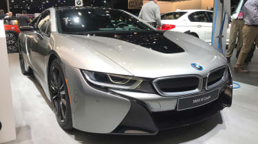 BMW i8 Coupe - Detroit front