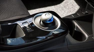 Used Nissan Leaf - interior detail