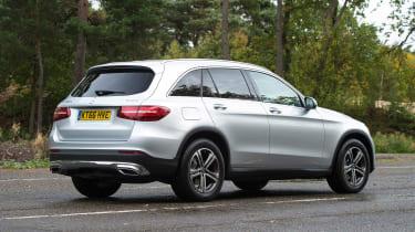 Mercedes GLC - rear static