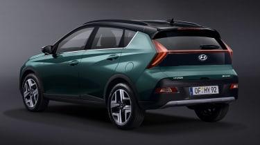 Hyundai Bayon - rear static