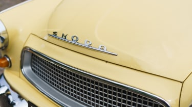 Original Skoda Octavia - front badge