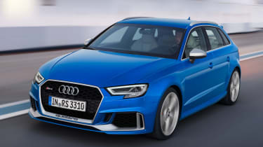 Audi RS3 Sportback 2017 - front tracking