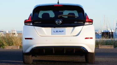 2017 Nissan Leaf - rear
