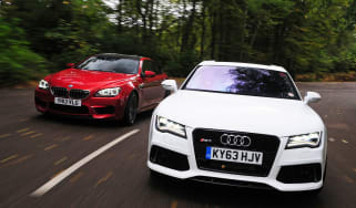 Audi RS7 vs BMW M6 Gran Coupe