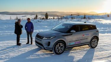 Range Rover Evoque prototype - interview