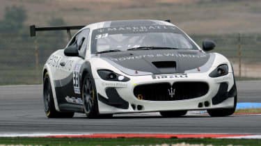 2012 Maserati Trofeo front action