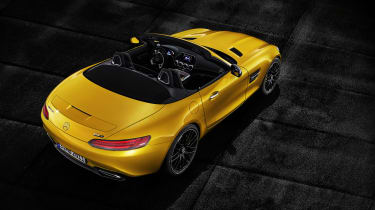 Mercedes-AMG GT S Roadster rear top