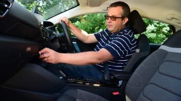 Citroen e-C4 long termer - first report interior