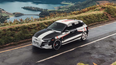 Audi S3 prototype - above