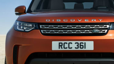 Land Rover Discovery 2017 - official front detail