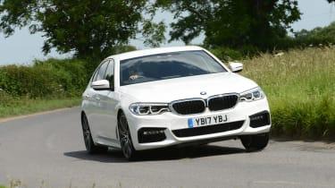BMW 530e - front cornering