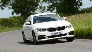BMW 530e - front cornering