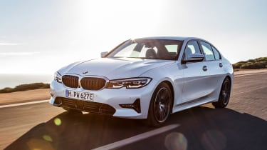BMW 330e - front tracking