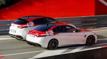 Alfa Romeo Giulia Quadrifoglio and Stelvio Quadrifoglio F1 - rear