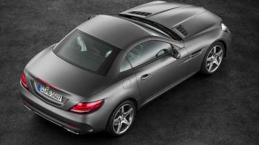 Mercedes SLC roadster - roof up