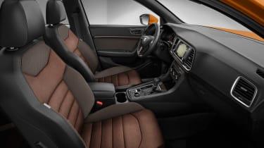 SEAT Ateca SUV 2016 - interior