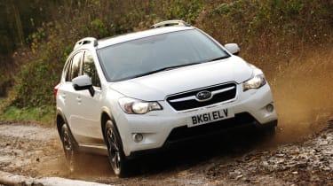 Subaru XV front tracking