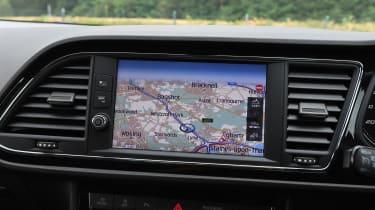 SEAT Leon - screen