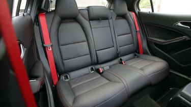 Used Mercedes GLA - rear seats