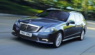 Mercedes E350 CDI Estate front tracking