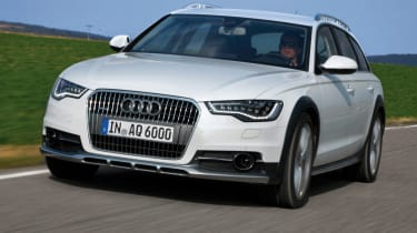 Audi A6 Allroad front tracking